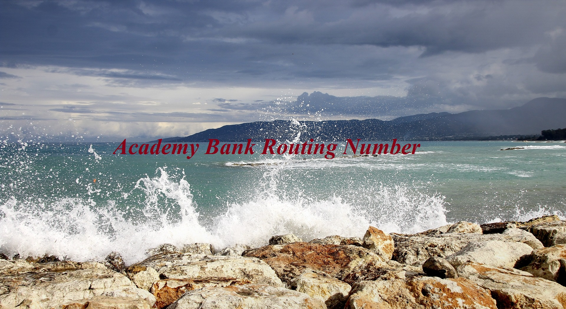 Academy Bank Routing Number