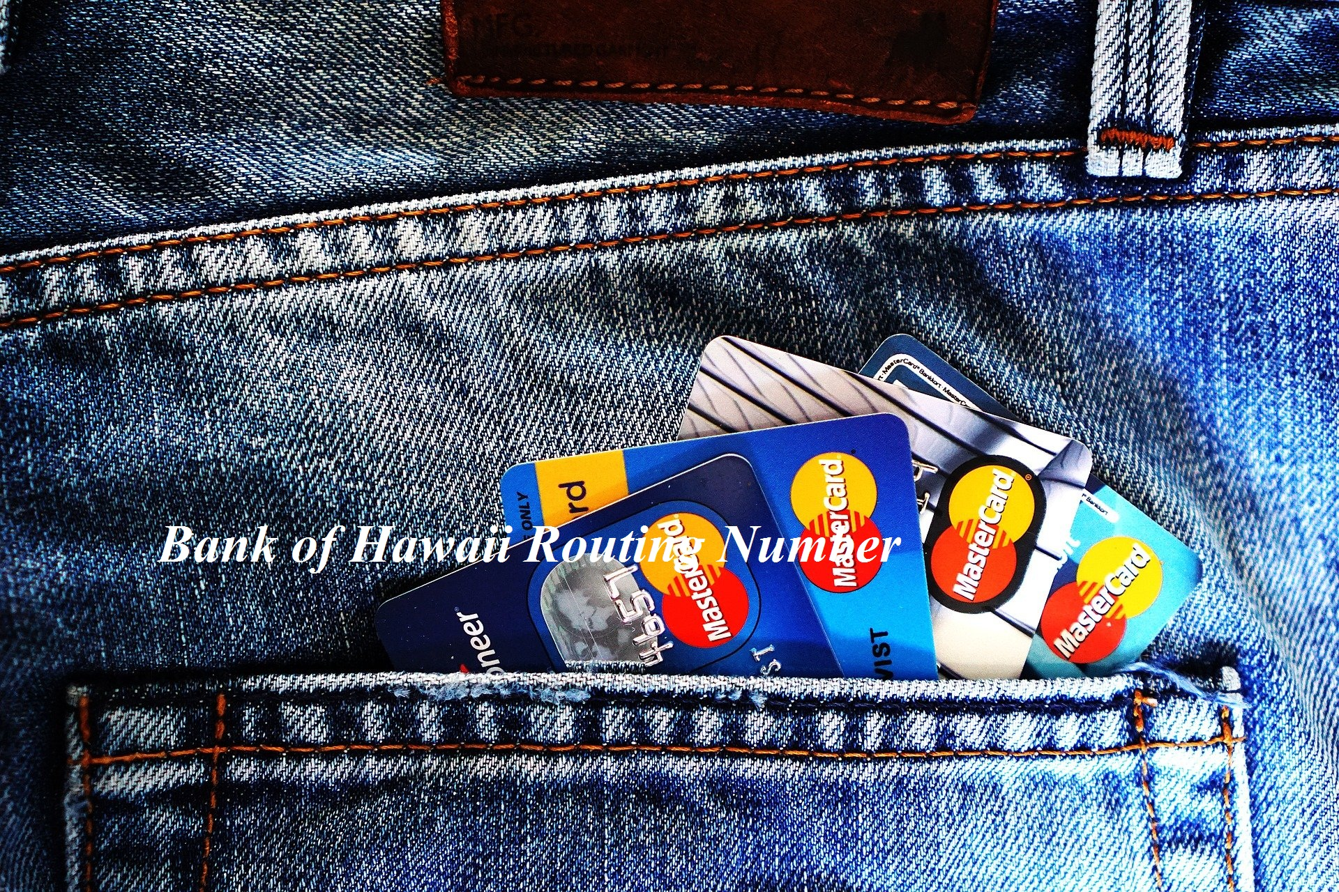 Bank of Hawaii Routing Number