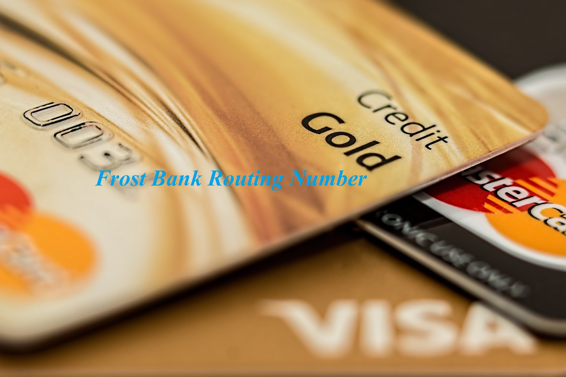 Frost Bank Routing Number