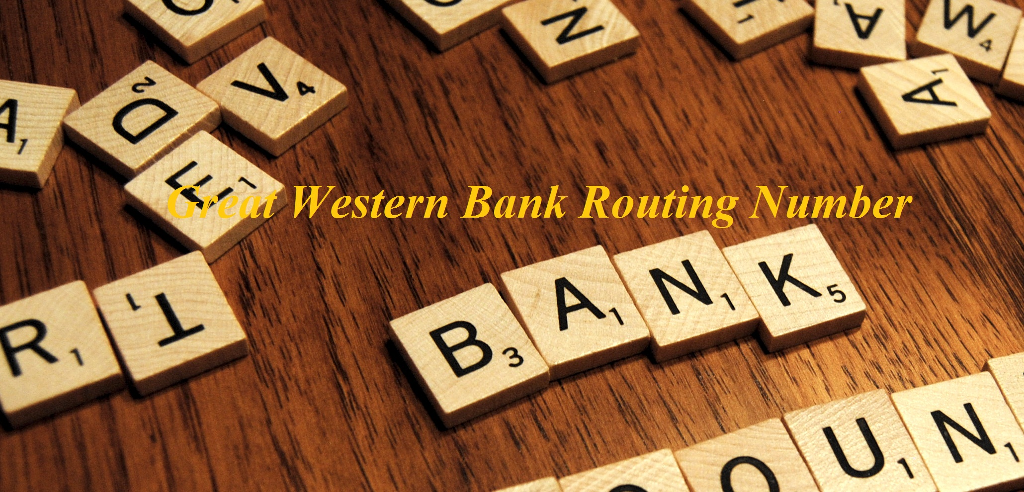Great Western Bank Routing Number