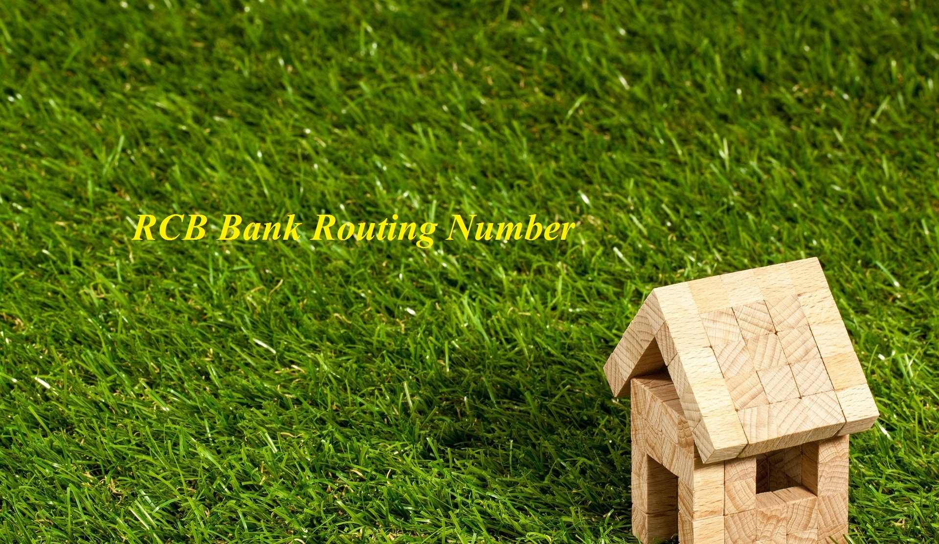 RCB Bank Routing Number