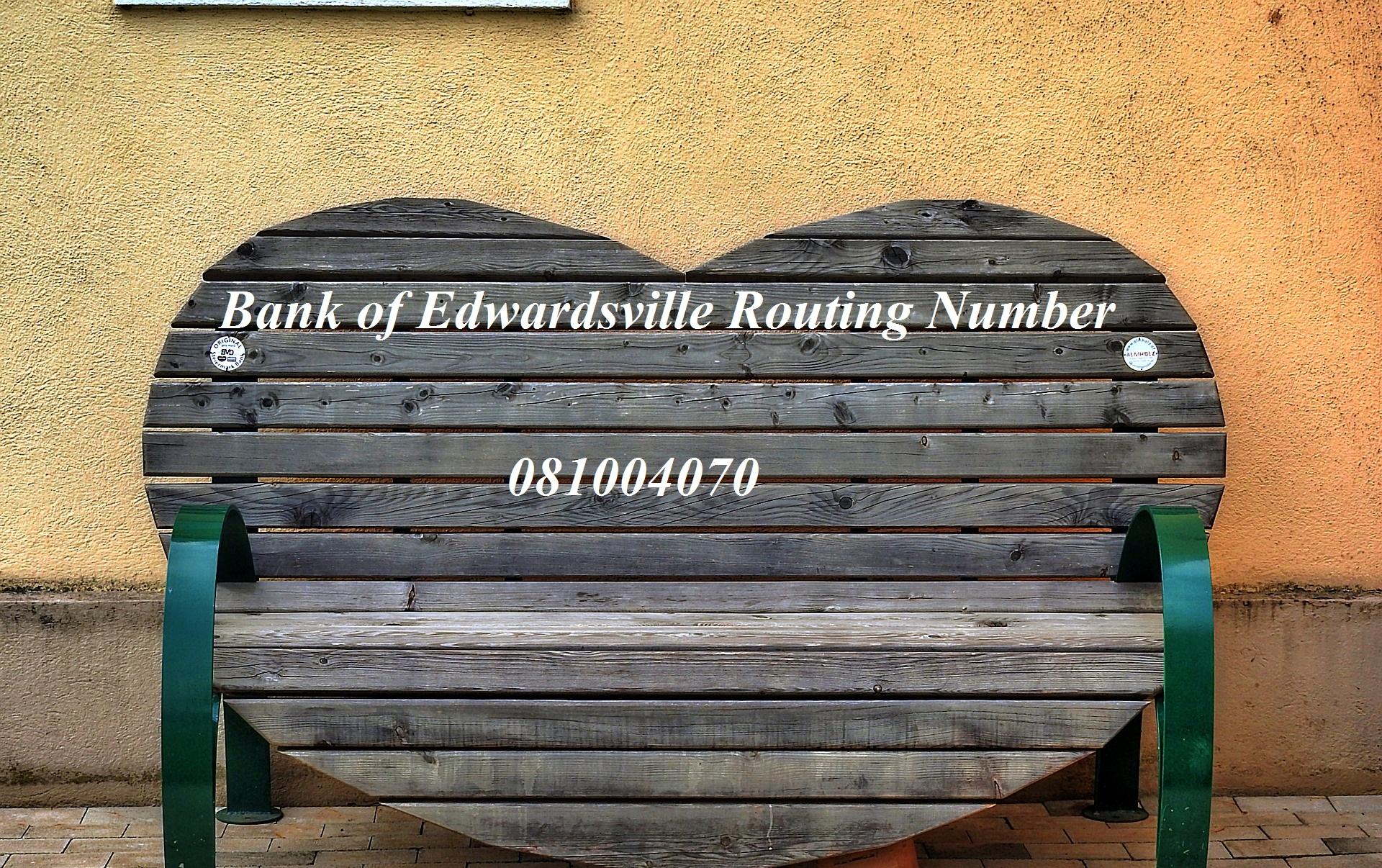 Bank of Edwardsville Routing Number