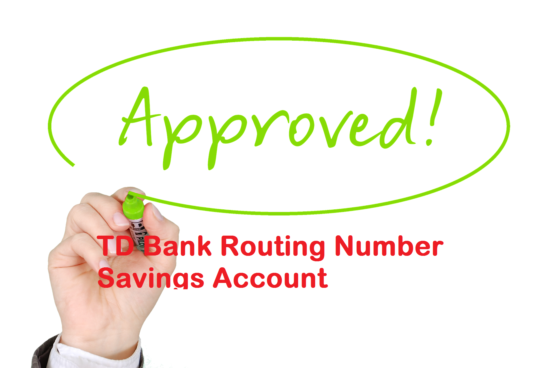TD Bank Routing Number Savings Account
