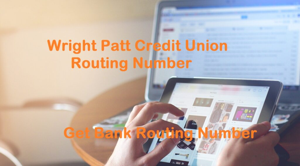 Wright Patt Credit Union Routing Number